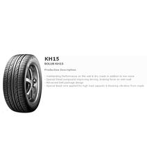 KUMHO KH15  255/60R18