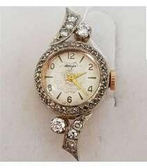 Sibir brilliantı ilə saat