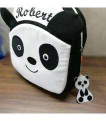 Oğlan üçün panda modelində bel çantası
