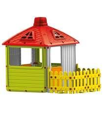 Rəngli uşaq oyun evi