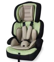 Avto Oturacaq Junior Premium 9-36 kg Yaşıl & Bej