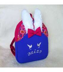 Qız üçün dovşanlı bel çantası