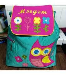 Qız üçün bəzəkli çanta