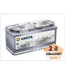 VARTA AGM H15 105 Ah R+ Silver Dynamic