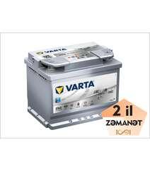 VARTA AGM D52 60 Ah R+ Silver Dynamic