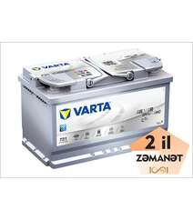 VARTA AGM F21 80 Ah R+ Silver Dynamic