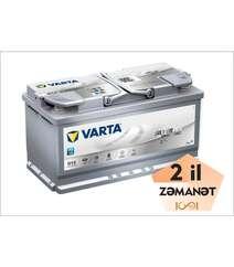 VARTA AGM G14 95 Ah R+ Silver Dynamic