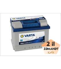 VARTA D59 60 AH R+ Blue Dynamic