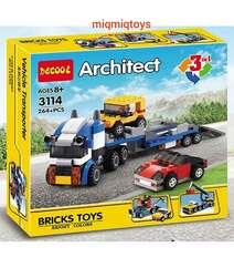 "Konstruktor Decool LEGO Architect 3v1 ""Avtomobil Nəqliyyatı"" 264 Hissə"