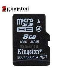 8Gb Micro yaddaş kartı Kingston