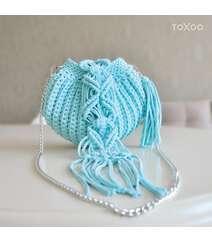 Balıqqulağı modelində çanta