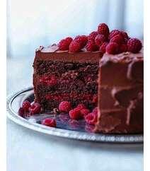 Moruqlu , şokaladlı tort