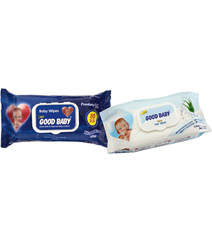 YAŞ SALFET, GOOD BABY WET WIPES (80 ədəd)