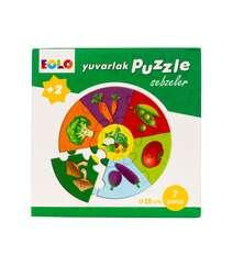 Dairəvi Puzzle – Tərəvəzlər