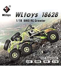 6WD 6x6 ,2.4GHz 1:14 Off Road Climbing High Speed Wild Beast Stunt 15 km /h