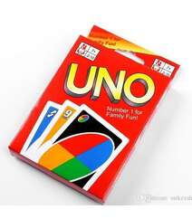 UNO card for 2-10 person,108 ed