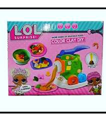 Lol Yemek bişirmə Play Dough Set