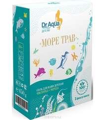 """Dr. Aqua Соль для ванн детская """"Море трав"""", с экстрактом чистотела и череды, 450 г"""