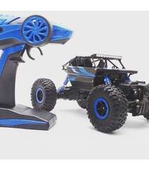 Rock Crawler RC Car 4WD Monster Truck 2.4Ghz Remote Control 1:18 High Speed Racing Rechargeable Vehicle 20km/h