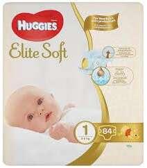 Подгузники Huggies ELITE SOFT 1 Mega 84 шт