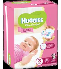 Huggies Подгузники Ultra Comfort 3 Small