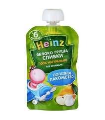 Детское пюре HEINZ Яблоко, груша, сливки (с 6 мес., 90 гр.)
