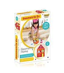 Furkan Toys Geometrik Ev 12+