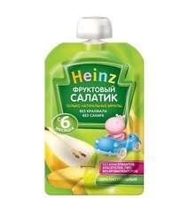 Детское пюре HEINZ Фруктовый салатик (с 6 мес., 100 гр.)