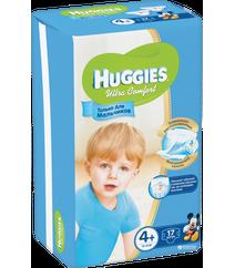 Huggies Подгузники Ultra Comfort 4+ Small