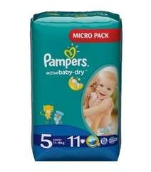 Pampers Подгузники Active Baby-Dry Junior