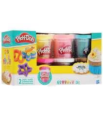 Play-Doh Набор пластилина Блестящая коллекция 6 цветов