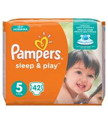 Pampers Подгузники Sleep & Play Junior
