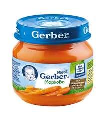 Gerber® Овощное пюре Морковь 80гр
