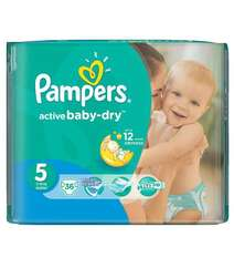 Pampers Active Baby-Dry Junior 11-18кг 36шт