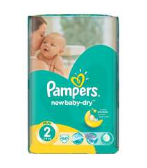 Pampers New Baby-Dry, размер 2 (3-6 кг), 66 шт.