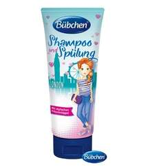 BÜBCHEN Kids Šampón a kondicionér 2v1 London Style