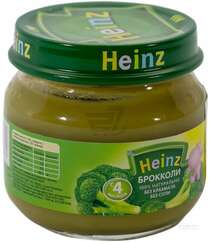 Heinz Пюре HEINZ Брокколи 80г