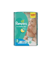 PAMPERS 3 JUMBO PACK N74 4-9 KQ