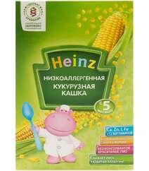 Каша без молока Для детей Кукурузная HEINZ - Низкоаллергенна с 5 месяцев