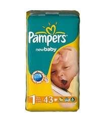 Pampers Подгузники New Baby-Dry Newborn