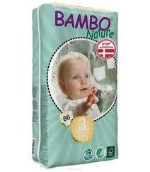 "Bambo Nature Подгузники детские одноразовые ""Midi"", 5-9 кг, 66 шт"