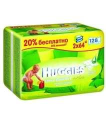 Huggies Детские влажные салфетки ''Ultra Comfort + Алое Duo''