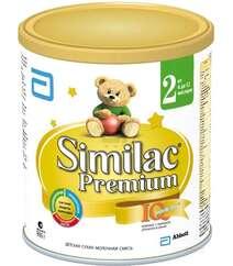 Similac Premium смесь 2 с пребиот. 6-12мес. 900гр