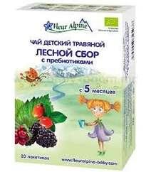 FLEUR ALPINE Детский травяной чай ЛЕСНОЙ СБОР С ПРЕБИОТИКАМИ