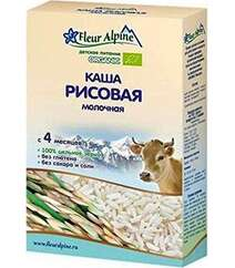 FLEUR ALPINE Каша детская молочная РИСОВАЯ