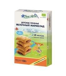 FLEUR ALPINE Детское печенье ЯБЛОЧНЫЙ МАРМЕЛАД