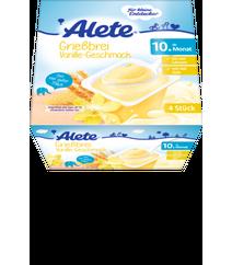 ALETE Milchbecher Grießbrei Vanille