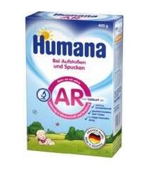 Humana Молочная смесь AR Антирефлюкс 0м+ 400г