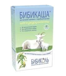 Бибикаша каша кукурузная на козьем молоке, с 5 мес. 200 г