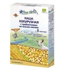 FLEUR ALPINE Каша детская Кукурузная с пребиотиками на козьем молоке
